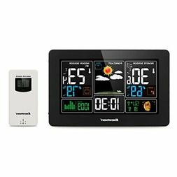 Excelvan Digital Wireless Weather Station with Large LCD Col