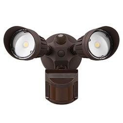 LEONLITE 2 HeadLED Outdoor SecurityFloodlightMotionS
