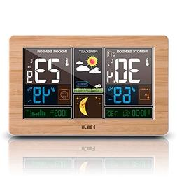 HeavenSense FanJu Wireless Weather Station Alarm Clock