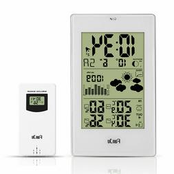 FanJu FJ3352 Weather Station with Outdoor Sensor/Atomic Cloc