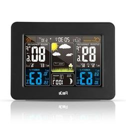 FanJu FJ3365 Digital  Forecast Weather Station  Alert Temp A