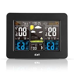 FanJu FJ3365B Digital Color Forecast Weather Station with Al