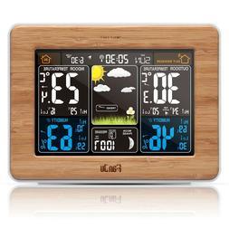 FanJu FJ3365 Weather Station Color Forecast with Alert | Tem