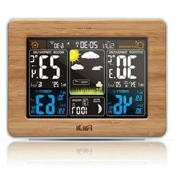 FanJu FJ3365 Wireless Weather Station Color Forecast with Ou