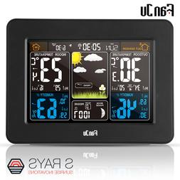 FanJu FJ3365B Digital Color Forecast Weather Station