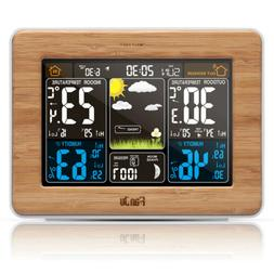 FanJu FJ3365W Wireless Weather Station Color Forecast with T