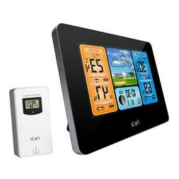 FanJu FJ3373 Multifunction Digital Weather Station LCD Alarm