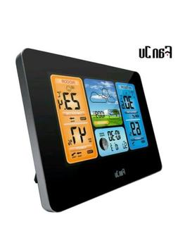 FanJu FJ3373B Wireless Weather Station Color Forecast with T