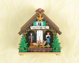 German Black Forest weather house Barometer weather station