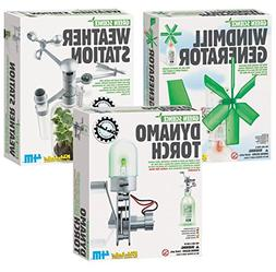 4M Green Science Windmill Generator with Weather Station & D