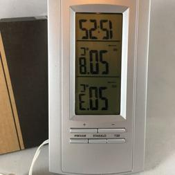 Home Digital Indoor/Outdoor Weather Station Clock Calendar T