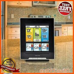 Home Weather Station AcuRite Wireless Digital Outdoor LCD Te