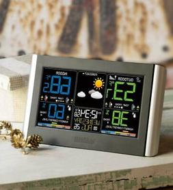Horizontal Color Display Full-Function Weather Station w/ Wi