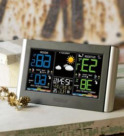 La Crosse Technology Horizontal Color Wireless Weather Stati