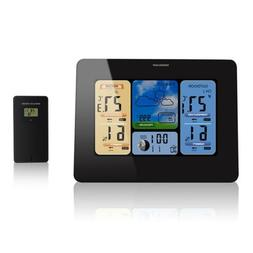Humidity Gauge Living Room,LCD Touch Screen Battery Operated