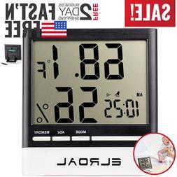 Hygrometer Humidity Meter Gauge Monitor Sensor Indoor Digita