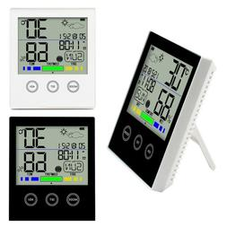 Hygrometer Temperature Sensor Touch Screen Wireless Weather
