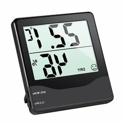 AMIR Indoor Hygrometer Thermometer, Digital Temperature and