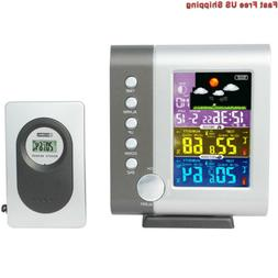 JIMEI Indoor Outdoor Color Weather Station Digital Forecast