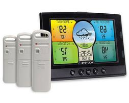 AcuRite Indoor Outdoor Weather Station 3 Temperature Humidit