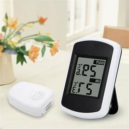 indoor outdoor wireless digital lcd thermometer weather