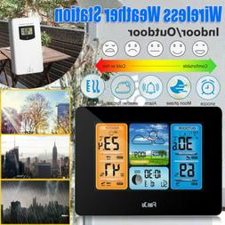 Indoor Outdoor Wireless Weather Station Temperature Forecast
