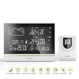 Fetanten Indoor Outdoor Thermometer, Weather Station Wireles