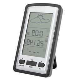 New Indoor Outdoor Wireless Thermometer Gauge Weather Statio