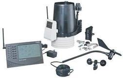instruments 6163 wireless weather station fan uv