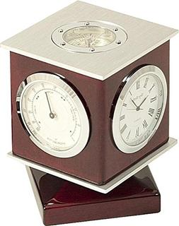 Bey-Berk International Revolving Cube Weather Station & Comp
