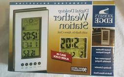 Journey's Edge Digital Desktop weather station  with built i