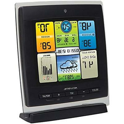 00589 Pro Color Station With Wind Temperature And Humidity ""