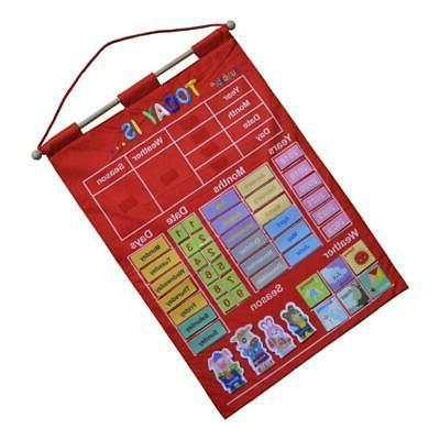 Learning Calendar with Weather Station for Kids Child Early