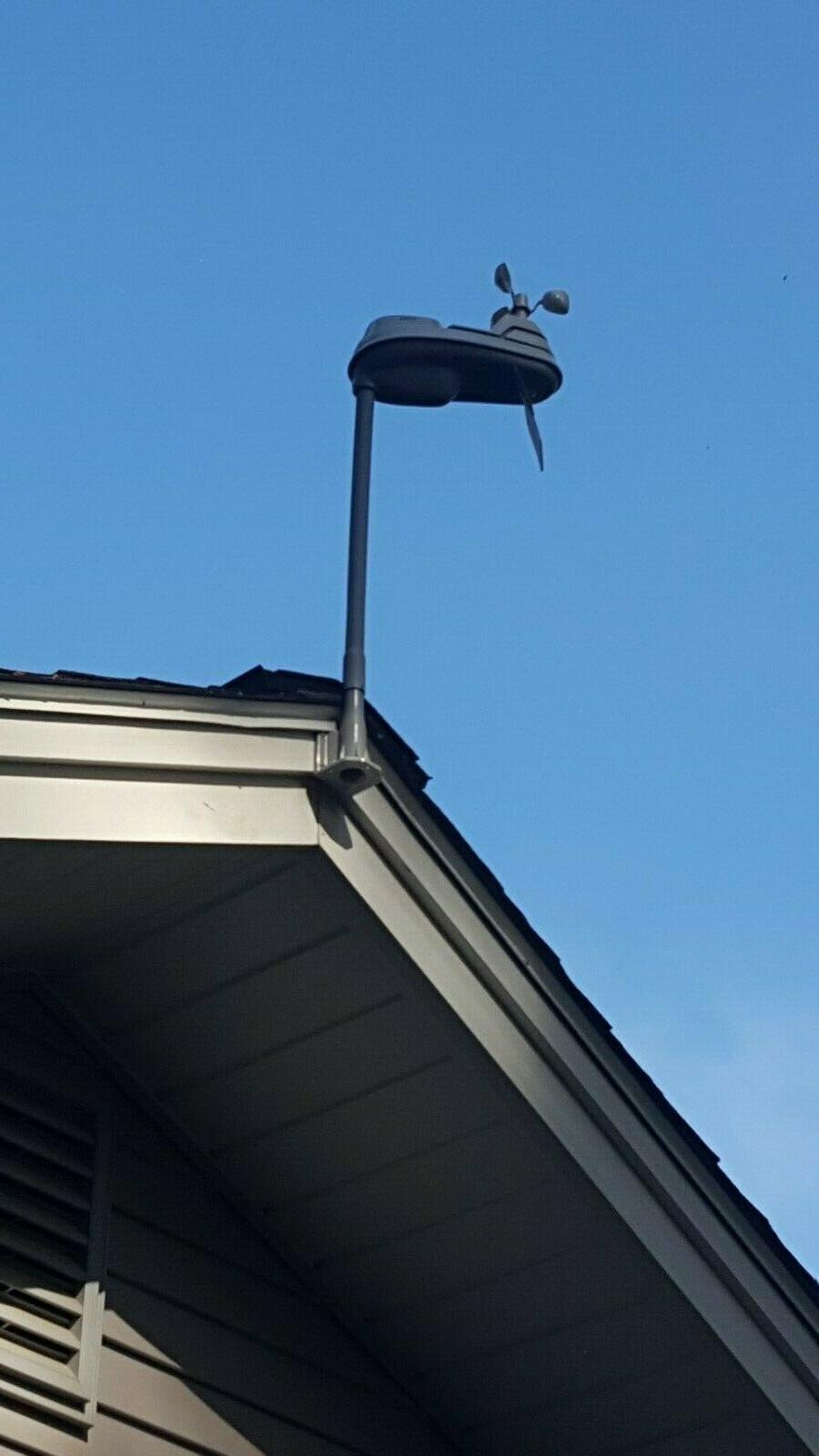 """Acu-Rite pro 5-in-1  Weather Station 24"""" Extension Pole/Mast"""