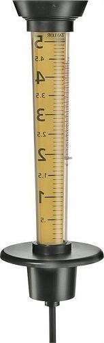 Taylor 2704 Jumbo Rain Gauge and Thermometer