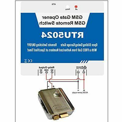 3G Gate Opener Access Garage Swing Sliding On/Off RTU5024