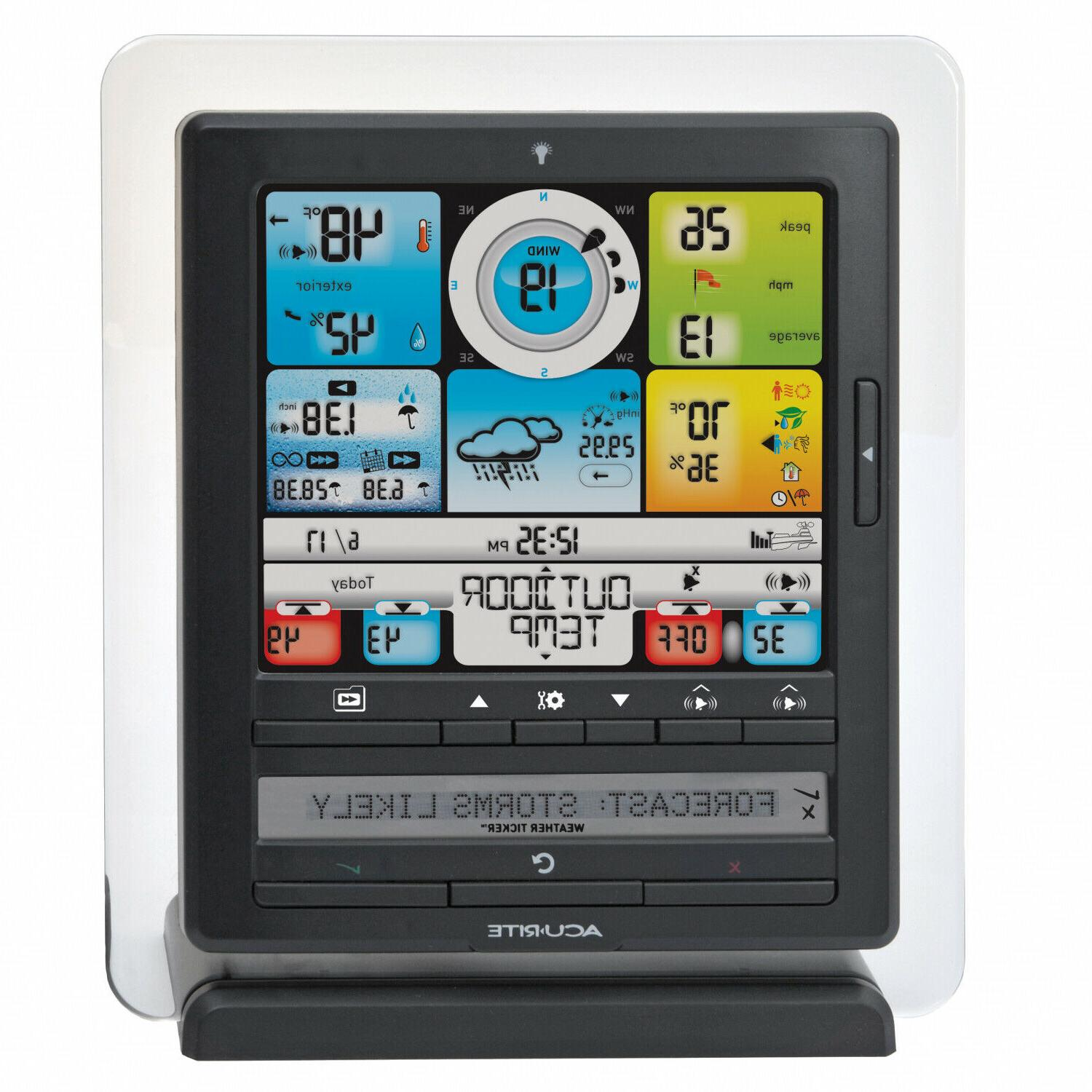5 in Weather Station Wireless Humidity Temperature