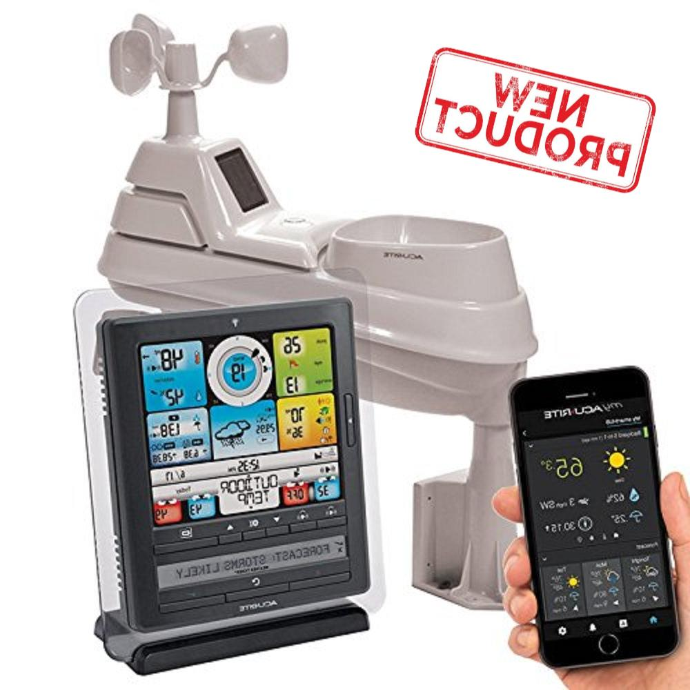 5 in 1 home weather station wireless