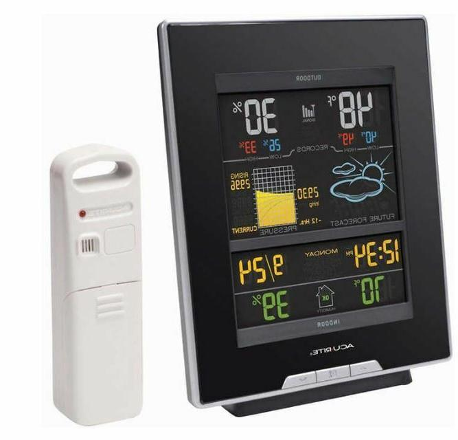 AcuRite 02008A1 Color Weather Station with Forecast, Tempera