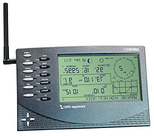 Pro2 Weather with Radiation Shield and Display