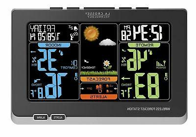 La Crosse Technology  Wireless Atomic Digital Color Weather