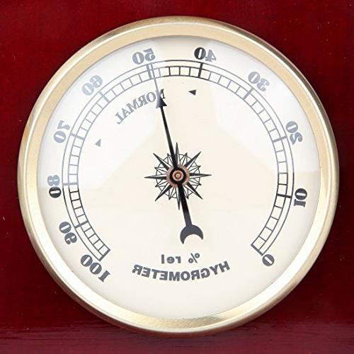 Lily's Analog Station, with Galileo a Hygrometer,