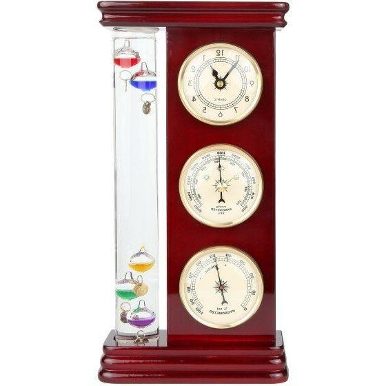 Lily's Home Analog Weather Station, with Galileo Thermometer