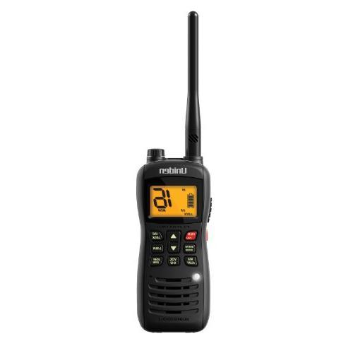 Uniden MHS126 Handheld Submersible 2-Way 6W VHF Marine Radio