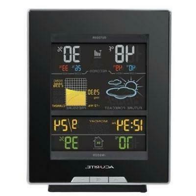 acurite color weather station 330 ft desktop