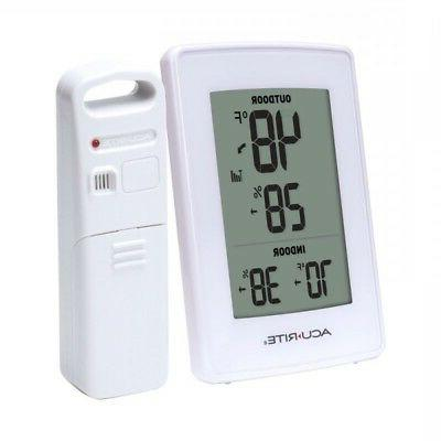 acurite weather station thermometer humidity ind out