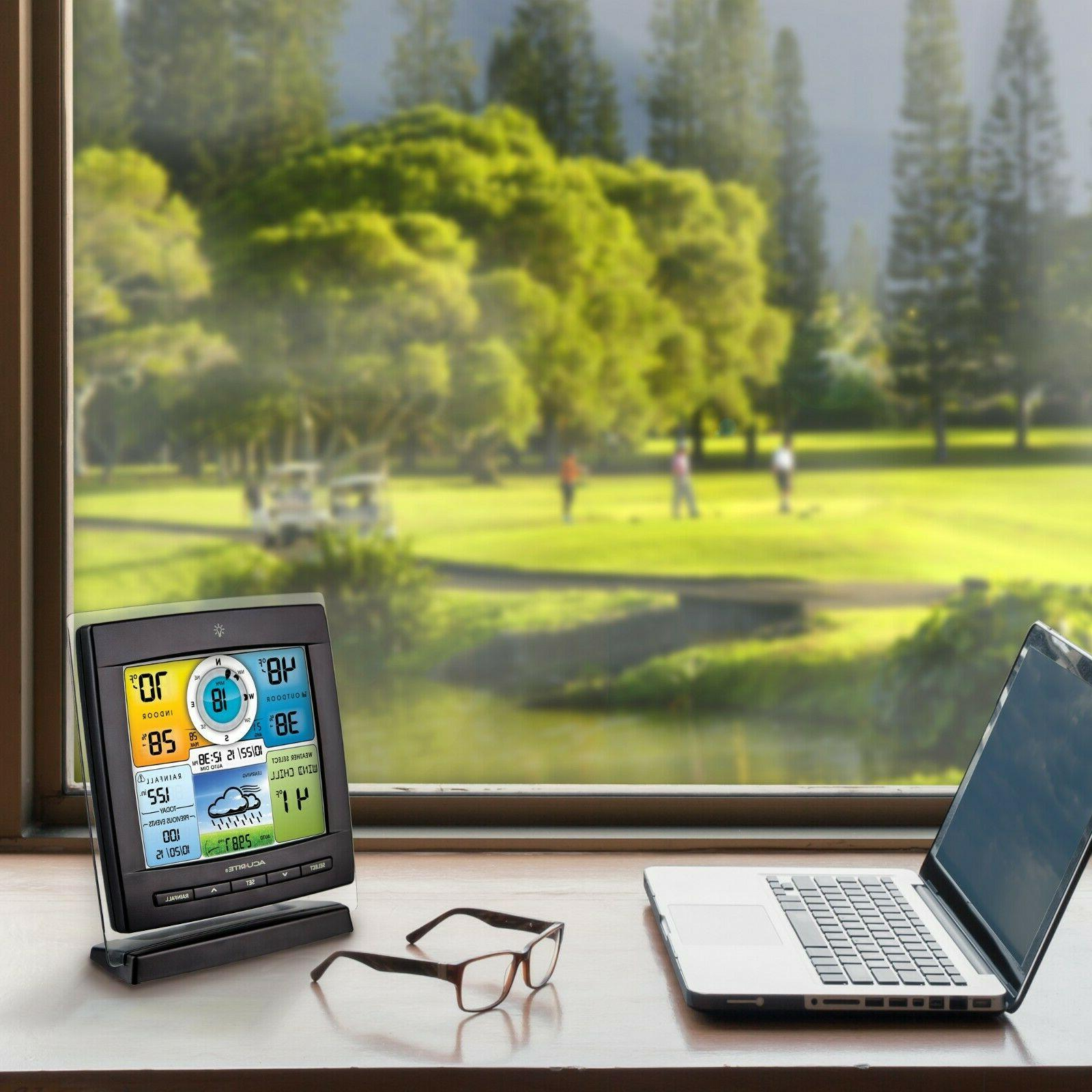 5-in-1 Wireless Weather Station Display