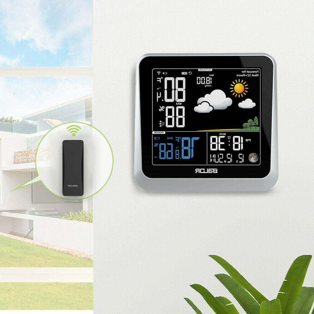 BALDR B336 Digital Color LCD Weather Station Indoor/Outdoor