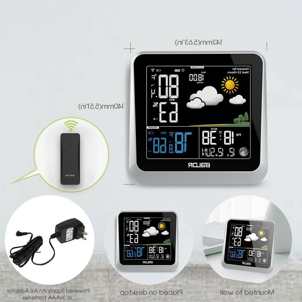 BALDR Color LCD Station Indoor/Outdoor Temperature