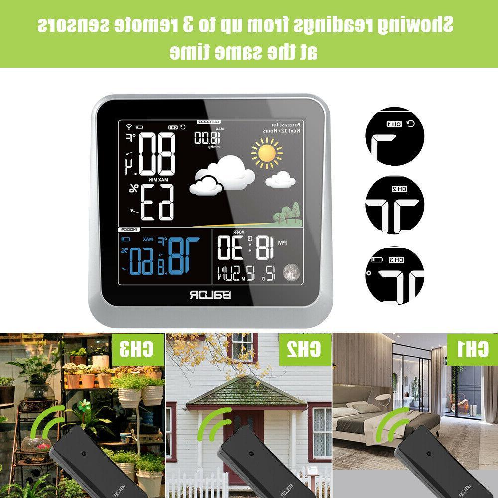 BALDR LCD Indoor/Outdoor Temperature Humidity